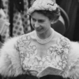Queen Elizabeth at Ascot in 1954