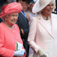 Queen Elizabeth and the Duchess of Cornwall