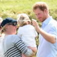Prince Harry with Zara and Mia Tindall
