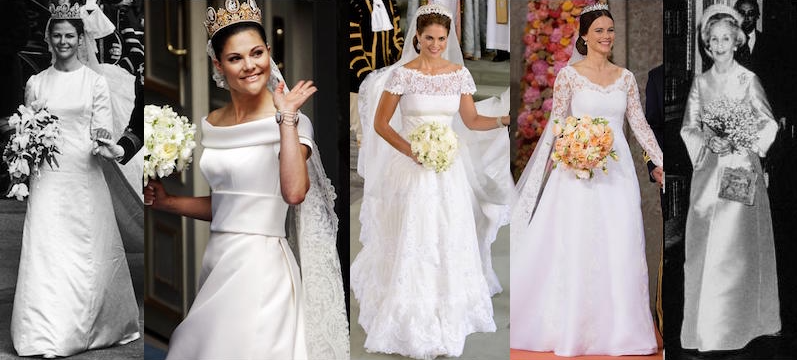 L R Queen Silvia Crown Princess Victoria Madeleine Sofia
