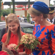 Princess Elisabeth and Queen Mathilde
