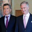 King Philippe and the President of Argentina