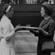 Princess Marina, Duchess of Kent at Wimbledon