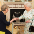 Queen Elizabeth II with Prime Minister Theresa May