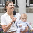 Crown Princess Victoria and Prince Oscar