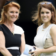 Sarah Duchess of York and Princess Eugenie