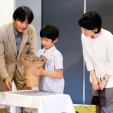 Prince Akishino, Prince Hisahito and Princess Kiko