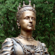 A statue of Queen Olga