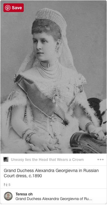 Grand Duchess Alexandra Georgievna of Russia
