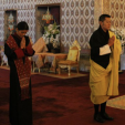 King Jigme Khesar and Queen Jetsun Pema