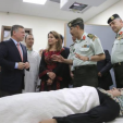King Abdullah and Princess Haya