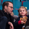 Prince Daniel and Princess Estelle