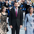 Queen Letizia, King Felipe and Queen Sofia