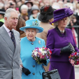 Prince Charles. Queen Elizabeth and the Duchess of Cornwall