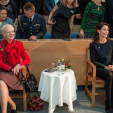Queen Margrethe and Princess Marie