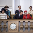 The Danish Royals at the opening of parliament