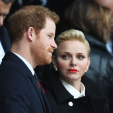 Princess Charlene and Prince Harry