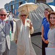 Prince Charles, the Duchess of Cornwall and Princess Haya