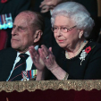 The Duke of Edinburgh and Queen Elizabeth
