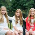 Princesses Amalia, Alexia and Ariane