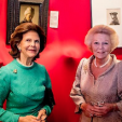 Queen Silvia and Princess Beatrix