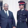 Prince George Tupou of Tonga in 1968