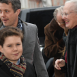 Crown Prince Frederik, Prince Christian, Queen Margrethe