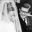 Princess Margriet and Pieter van Vollenhoven on their wedding day