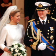 Princess Maxima and Prince Willem-Alexander on their wedding day