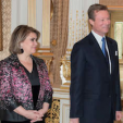 Grand Duchess Maria Teresa and Grand Duke Henri