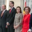 King Juan Carlos, King Felipe, Queen Letizia and Queen Sofia