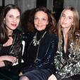 Tatiana Casiraghi, Diane von Furstenberg and Princess Talita von Furstenberg