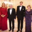 The Dutch King and Queen with the President of Germany