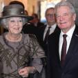 Princess Beatrix and President Gauck