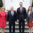 The German Presidential Couple with King Felipe and Queen Letizia