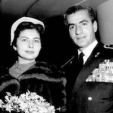 Queen Soraya and Shah Mohammed