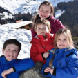 Prince Christian, Princess Isabella, Prince Vincent and Princess Josephine