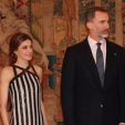 Queen Letizia and King Felipe
