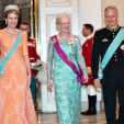 Queen Mathilde, Queen Margrethe and King Philippe