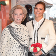 Countess Marianne Bernadotte and Crown Princess Victoria