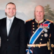 King Harald and the President of Iceland