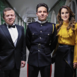 King Abdullah, Crown Prince Hussein and Queen Rania