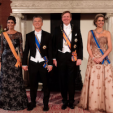 The Argentine Presidential Couple and the Dutch Royal Couple
