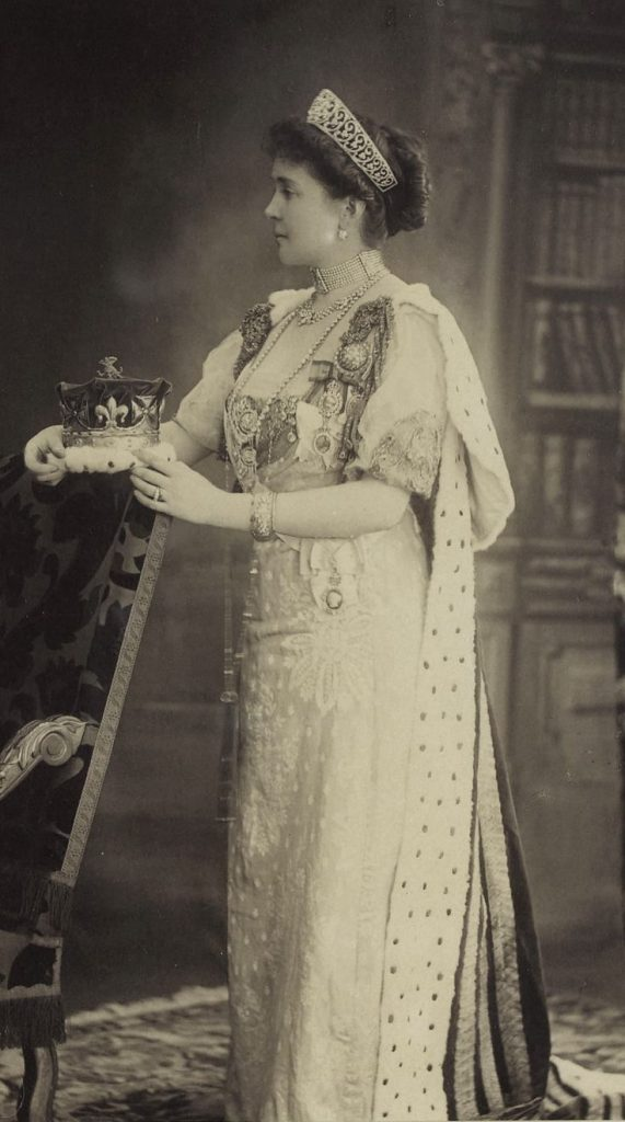 The Duchess of Connaught at the 1911 coronation of George V