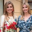 Queen Maxima and Ivanka Trump