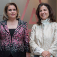 Grand Duchess Maria Teresa and the Duchess of Braganca