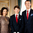 Prince Felix with his parents