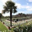 The White Garden at Kensington Palace