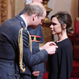 The Duke of Cambridge and Victoria Beckham