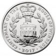 A coin marking 100 years of the House of Windsor
